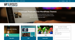 Instant download free WordPress Themes developed from static responsive HTML templates