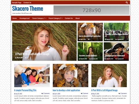 WordPress Skacero Theme - How to make post display in full width without sidebar
