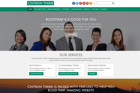 Cintron WordPress Theme