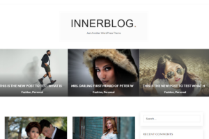 InnerBlog WordPress Blogging Theme